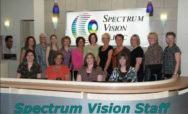 The Staff of Spectrum Vision Clinic, Optometrists, Fredericton & Minto, NB